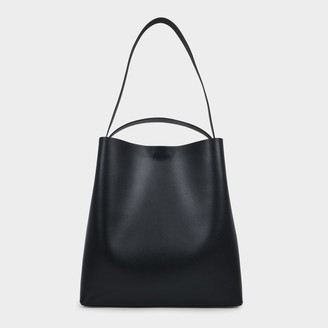 Most Wanted Design by Carlos Souza Sac Bag In Black Leather