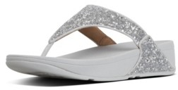 FitFlop Women's Lulu Glitter Toe-Thongs Sandal Women's Shoes