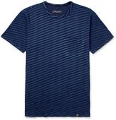 Rag & Bone James Slim-Fit Striped Cotton-Jersey T-Shirt
