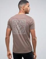Brave Soul Back Print T-Shirt
