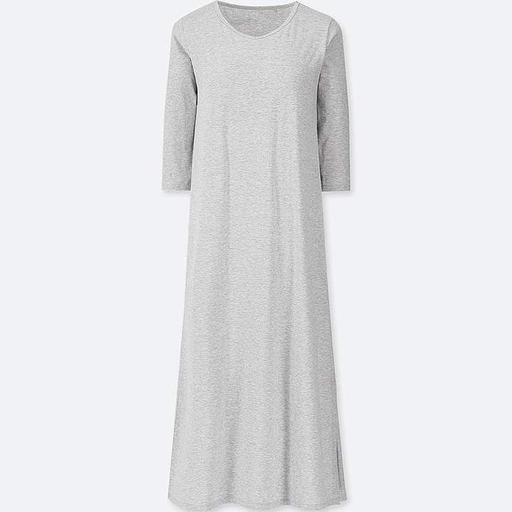 Uniqlo Women's 3/4 Sleeve Relax Bra Dress