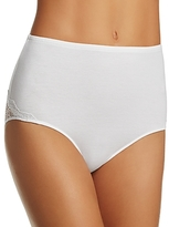 Only Hearts So Fine Lace-Trim High-Waist Brief