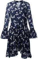 Derek Lam 10 Crosby floral ruffle waist dress