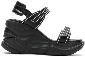 Sarah Chofakian Comfort flatform sandals