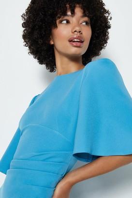 Coast Flare Sleeve Crepe Dress