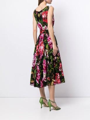 Samantha Sung Aster floral print sundress