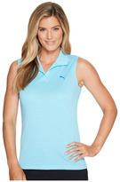 Puma Jacquard Sleeveless Polo Women's Sleeveless