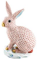 Herend Large Rabbit Figurine