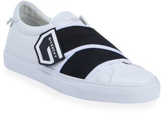 Givenchy Men's Urban Street Elastic Logo-Strap Sneakers