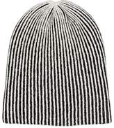 The Elder Statesman Women's Striped Cashmere Watchman's Cap