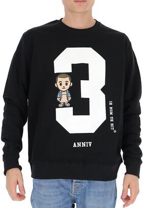 Ih Nom Uh Nit 3 Anniv Printed Sweatshirt