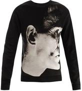Christopher Kane Frankenstein print sweat top