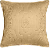 """Dransfield and Ross Giselle Quilted Pillow, 18""""Sq."""