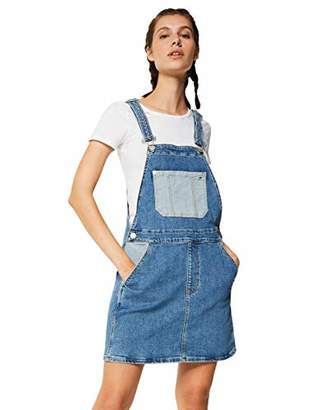 Tommy Jeans Women's Tjw Dungaree Dress,6