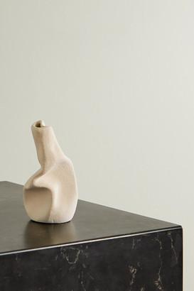 COMPLETEDWORKS + Ekaterina Bazhenova Yamasaki Wake Ceramic Vase - Beige