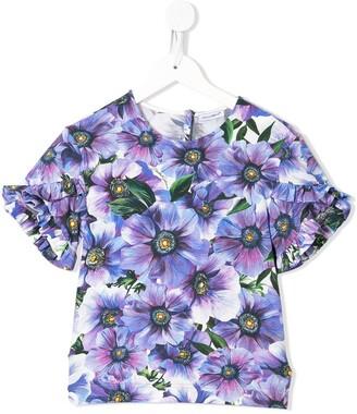 Dolce & Gabbana Kids floral print T-shirt