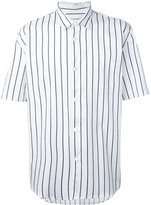 Our Legacy striped shortsleeved shirt - men - Cotton - XS
