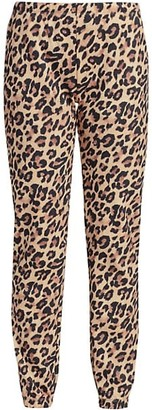 Generation Love Lionel Leopard Print Sweatpants
