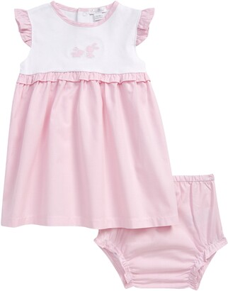 Kissy Kissy Bunny Applique Dress