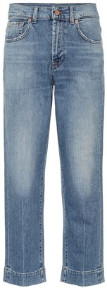 7 For All Mankind The Modern Straight high-rise jeans