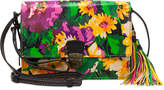 Patricia Nash Summer Bloom Lanza Small Crossbody Organizer