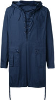 Undercover pullover rain jacket - men - Cotton - 2