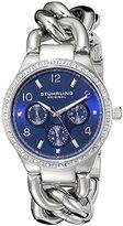 Stuhrling Original Women's 813S.02 Vogue Renoir Analog Display Quartz Silver Watch