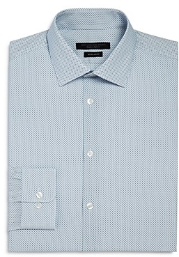 John Varvatos Micro Arrow Print Regular Fit Dress Shirt