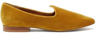 Le Monde Beryl - Venetian Velvet Slipper Shoes - Gold