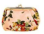 Clutch Bag, Misaky Women Lady Retro Vintage Flower Small Wallet Hasp Purse (Pink)