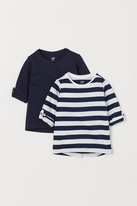 H&M 2-Pack Cotton Tops