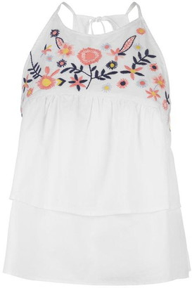 Soul Cal Soulcal SoulCal Tiered Top Ladies