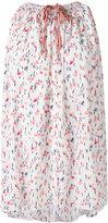 Agnona printed sleeveless top - women - Silk/Spandex/Elastane - 42