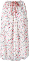 Agnona printed sleeveless top