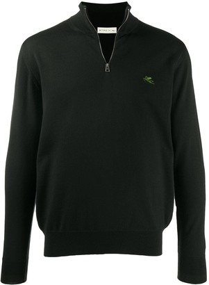 Etro Turtle Neck Zipped Sweater