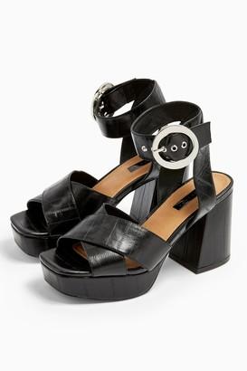 Topshop REGGIE Platform Sandals