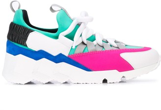 Pierre Hardy Colour-Block Sneakers