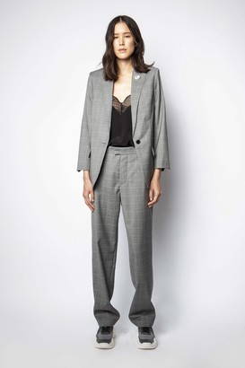 Zadig & Voltaire Peter Check Pants