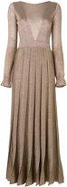 Missoni pleated long dress