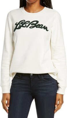 L.L. Bean 1912 Applique Logo Sweatshirt