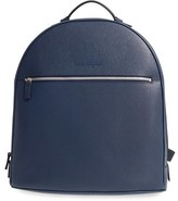 Salvatore Ferragamo Men's 'Revival' Leather Backpack - Blue