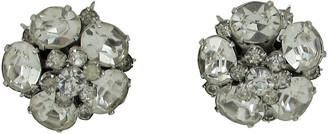 One Kings Lane Vintage Coro Cluster Rhinestone Earrings - Thanks for the Memories