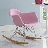 LexMod EEI-2300-PNK Rocker Kids Chair
