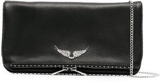 Zadig & Voltaire Studded Clutch Bag