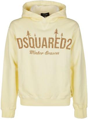 DSQUARED2 D2 Winter Season Hooded Sweatshirt