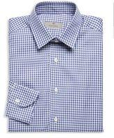 Canali Slim-Fit Gingham Cotton Dress Shirt