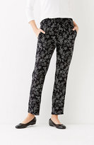 J. Jill Soft Rayon-Twill Ankle Pants