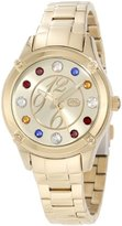Ecko Unlimited Rhino by Women's E8M097MV Stone In Love Jewel Tone Multi-Color Stones Watch