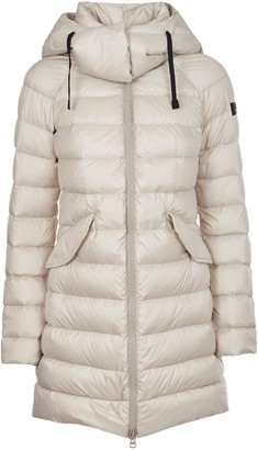Peuterey Hooded Long Down Jacket