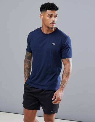 Lacoste Sport logo t-shirt in navy